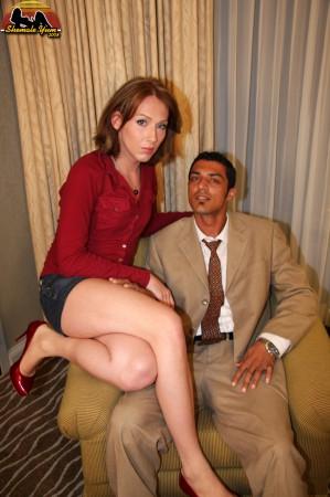 shemale slut seduces a stranger