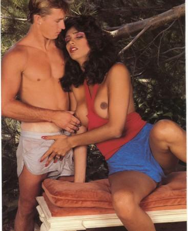 retro shemale slut seducing a guy